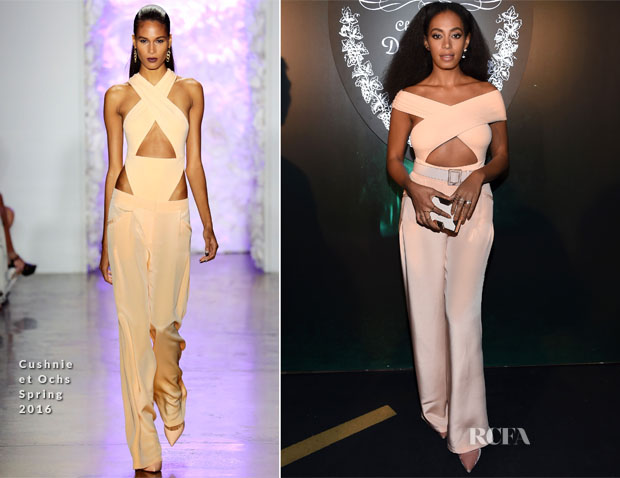 Solange Knowles In Cushnie et Ochs - Earth to Heart