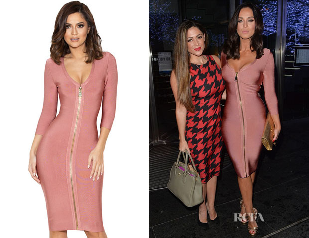 Vicky Pattison's House of CB Ila Rose Pink Bandage Dress