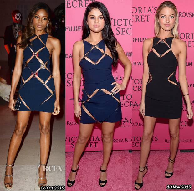 Who Wore Mugler Better Naomie Harris, Selena Gomez or Martha Hunt