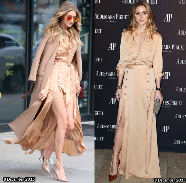 Who Wore Self-Portrait Better Gigi Hadid or Olivia Palermo