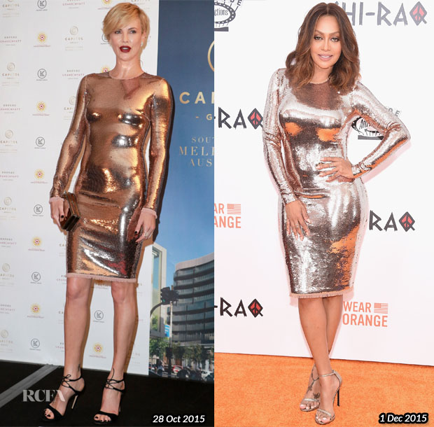 Who Wore Tom Ford Better...Charlize Theron or La La Anthony? - Red ...
