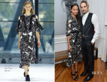 Zoe Saldana In Preen - The Art Of Elysium Celebrates The Work Of Jared Lehr