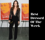 Best Dressed Of The Week - Olivia Wilde In Michael Kors
