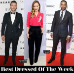 Best Dressed Of The Week - Olivia Wilde in Marc Jacobs, Luke Evans In Valentino & Chiwetel Ejiofor In Thom Sweeney