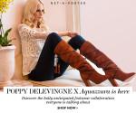 Poppy Delevingne x Aquazzura