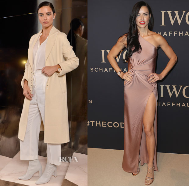 Adriana Lima In Alexander Wang, Joie, Francesco Scognamiglio & Cushnie et Ochs - Da Vinci Collection by IWC Schaffhausen Launch