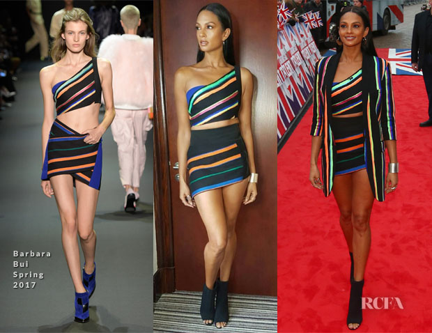 Alesha Dixon In Barbara Bui - 'Britain's Got Talent' Blackpool Auditions