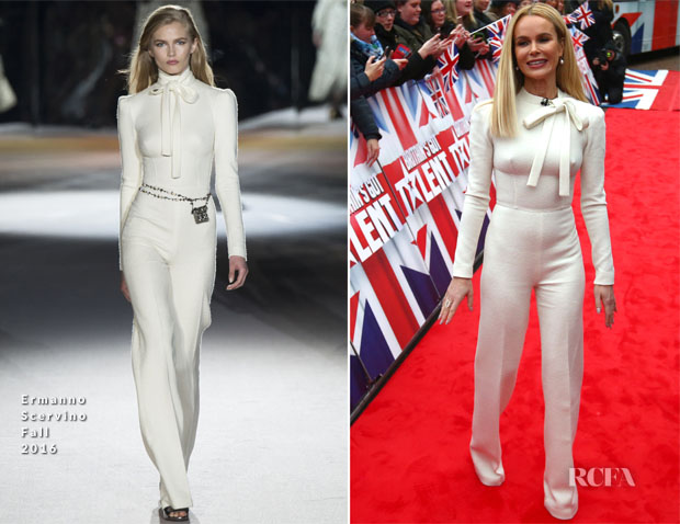 Amanda Holden In Ermanno Scervino - 'Britain's Got Talent' Blackpool Auditions