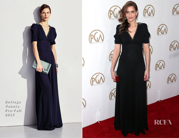 Amanda Peet In Bottega Veneta - 2017 Producers Guild Awards