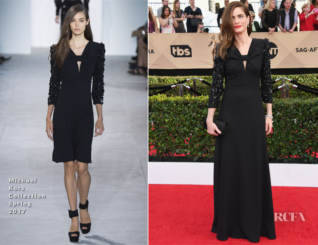 Amanda Peet In Michael Kors Collection - 2017 SAG Awards