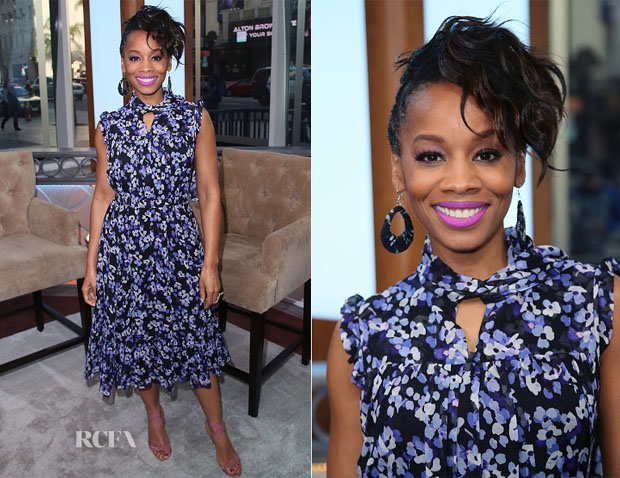 Anika Noni Rose In Kate Spade New York - Hollywood Today Live