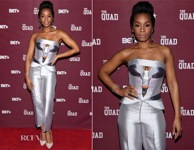 Anika Noni Rose In Rubin Singer - 'The Quad' Screening