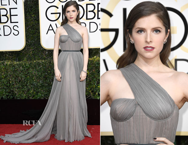 Anna Kendrick In Vionnet - 2017 Golden Globe Awards