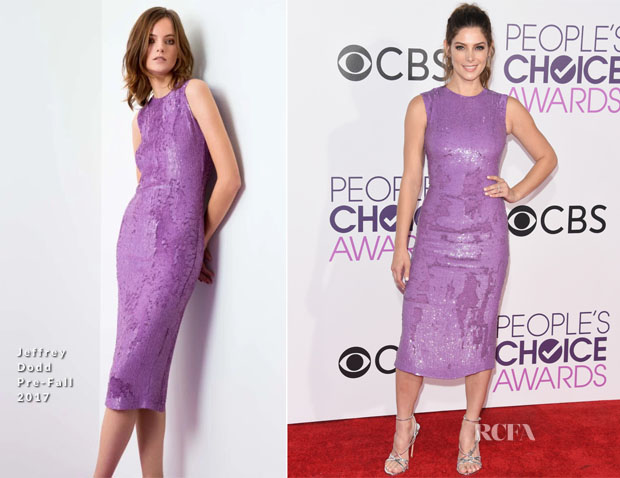 Ashley Greene In Jeffrey Dodd - 2017 People's Choice Awards