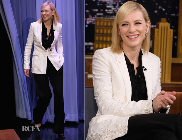 Cate Blanchett In Givenchy - The Tonight Show Starring Jimmy Fallon