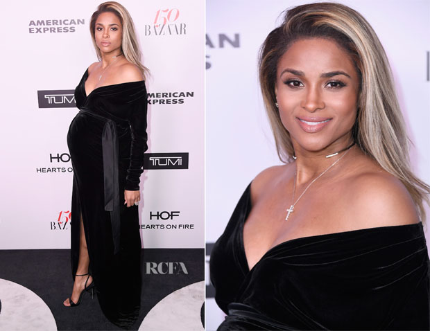 Ciara In Rhea Costa - Harper's Bazaar Celebrates 150 Most Fashionable Women