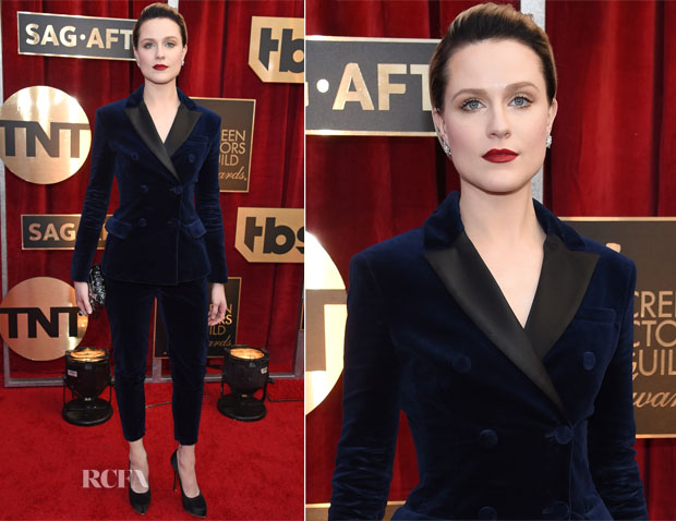 Evan Rachel Wood In Altuzarra - 2017 SAG Awards