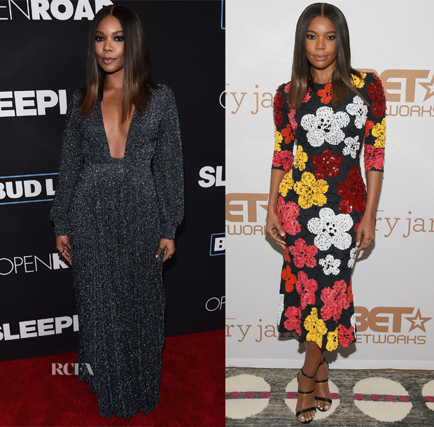Gabrielle Union In Thakoon, Naeem Khan, Dion Lee & Alena Akhmadullina - 'Sleepless' LA Premiere & 'Being Mary Jane' Promotion