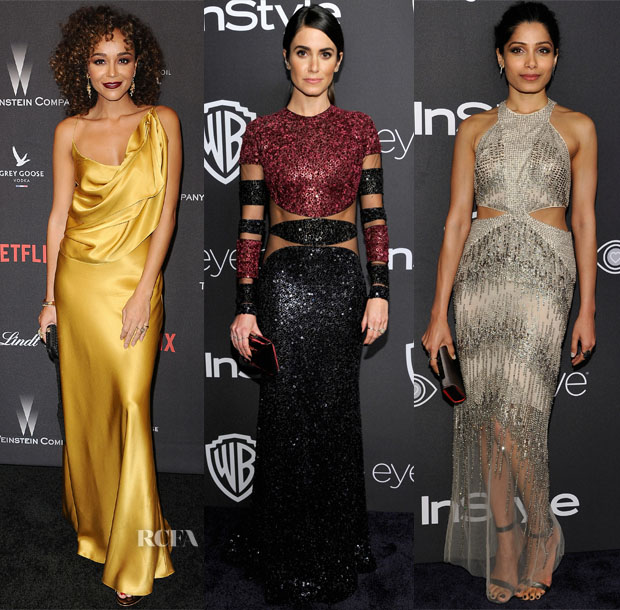 2017 Golden Globe Awards Parties Red Carpet Roundup
