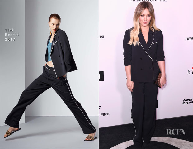 Hilary Duff In Tibi - Harper's Bazaar Celebrates 150 Most Fashionable Women