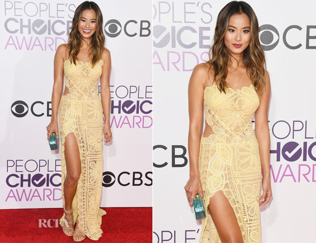 Jamie Chung In Martha Medeiros - 2017 People's Choice Awards
