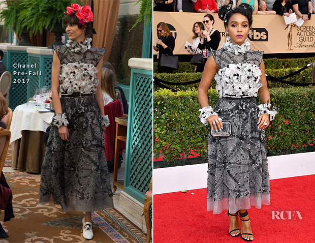 Janelle Monae In Chanel - 2017 SAG Awards