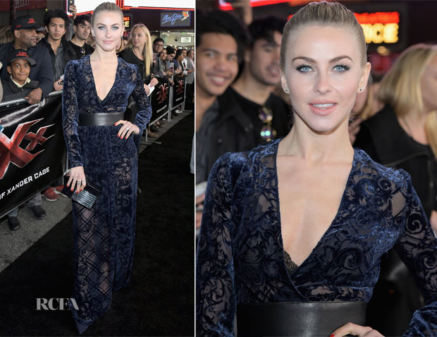 Julianne Hough In Zuhair Murad - 'xXx': Return of Xander Cage' LA Premiere