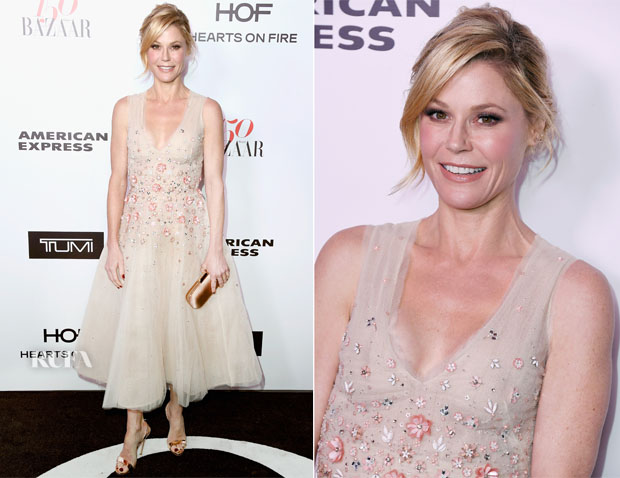 Julie Bowen In Monique Lhuillier - Harper's Bazaar Celebrates 150 Most Fashionable Women