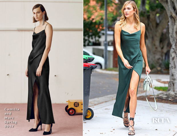 Karlie Kloss In Camilla and Marc - Out In Sydney