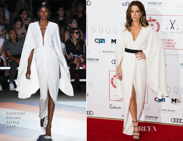 Kate Beckinsale In Christian Siriano - The London Critics' Circle Film Awards