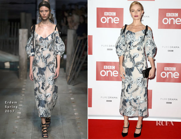 Kate Bosworth In Erdem - Photocall of the World Premiere Screening of BBC One's 'SS-GB'