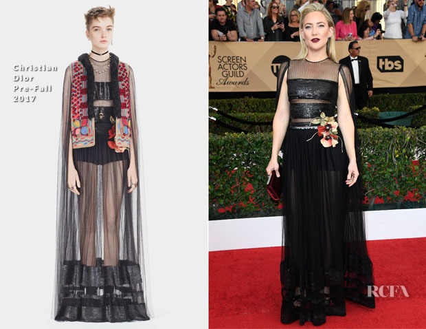 Kate Hudson In Christian Dior - 2017 SAG Awards