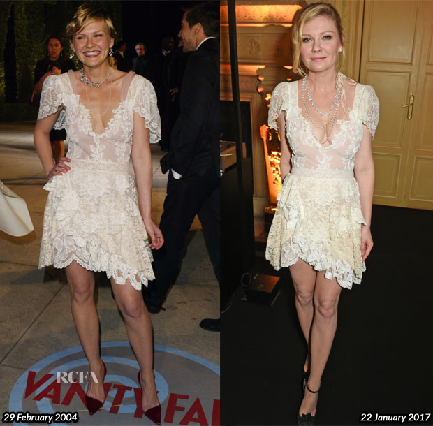 Kirsten Dunst In Vintage Christian Lacroix Couture - Chopard Presents The Garden Of Kalahari