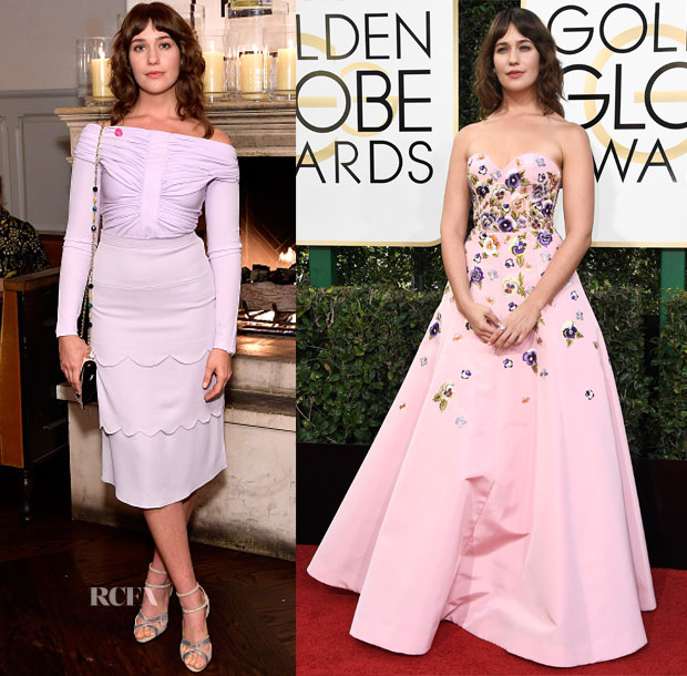 Lola Kirke In Altuzarra & Andrew Gn - W Magazine's It Girls Party & 2017 Golden Globe Awards