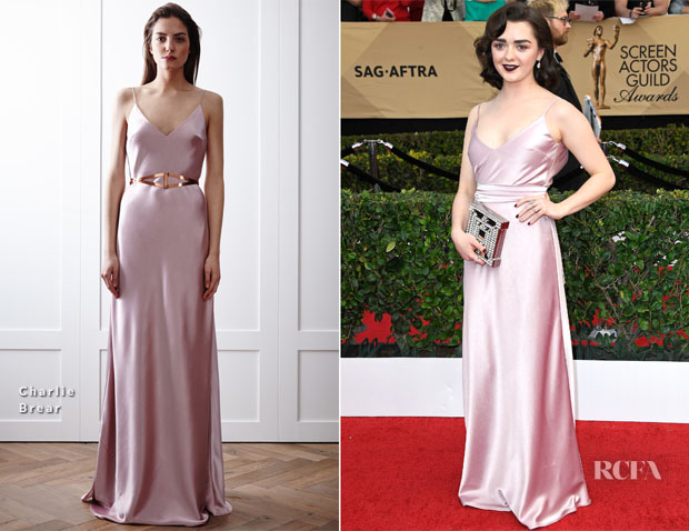 Maisie Williams In Charlie Brear - 2017 SAG Awards