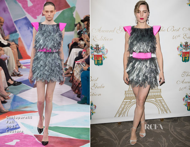 Melissa George In Schiaparelli Couture - 40th Best Ceremony