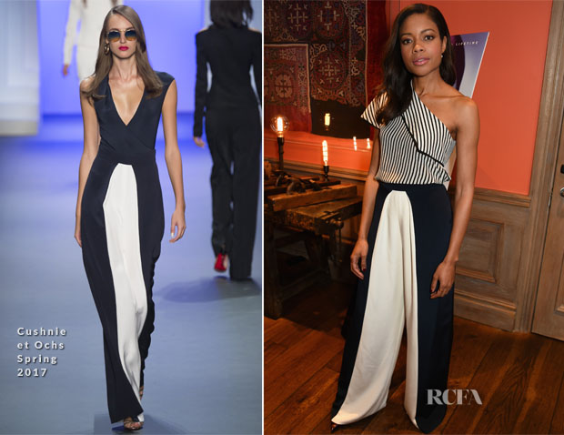 Naomie Harris In Diane von Furstenberg & Cushnie et Ochs - 'Moonlight' Special Screening