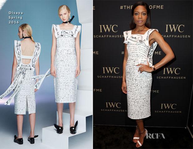 Naomie Harris In Disaya & Alexandre Vauthier Couture - Da Vinci Collection by IWC Schaffhausen Launch