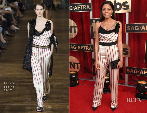 Naomie Harris In Lanvin - 2017 SAG Awards