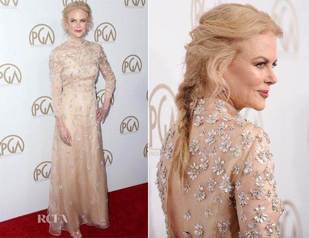 Nicole Kidman In Prada - 2017 Producers Guild Awards