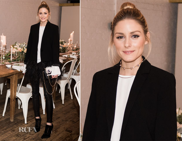 Olivia Palermo In Kate Spade New York - William Sonoma & Kate Spade New York Debut of the Tabletop Collaboration
