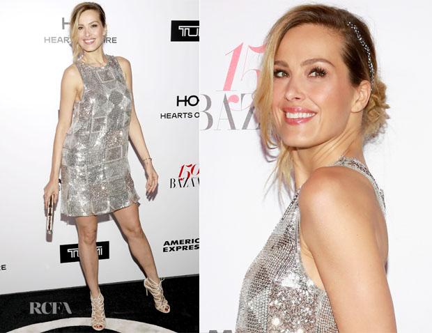 Petra Nemcova In Hilfiger Collection - Harper's Bazaar Celebrates 150 Most Fashionable Women