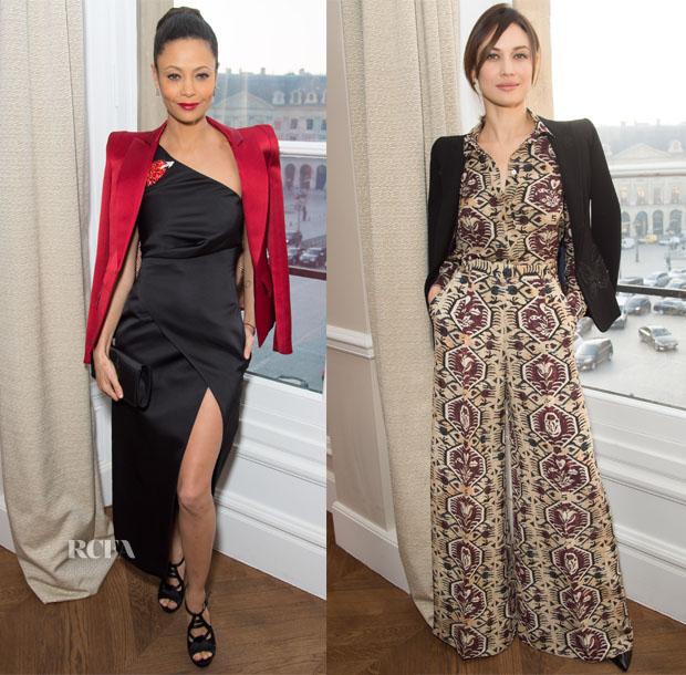 Schiaparelli Spring 2017 Couture Front Row