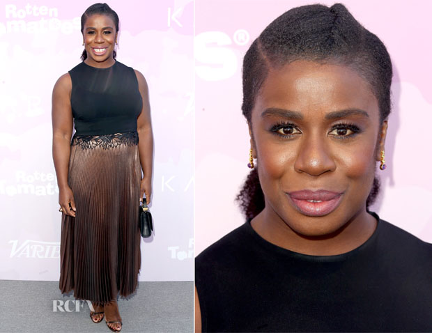 Uzo Aduba In A.L.C.  - Variety's Celebratory Brunch