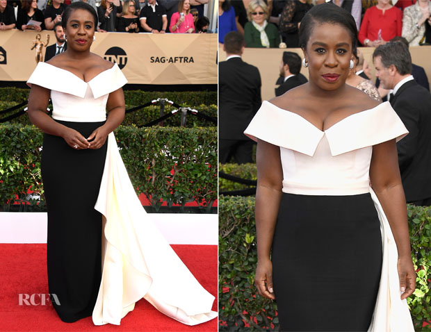 Uzo Aduba In Elizabeth Kennedy - 2017 SAG Awards