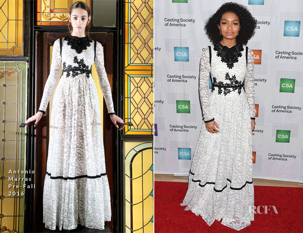 Yara Shahidi In Antonio Marras - 2017 Annual Artois Awards