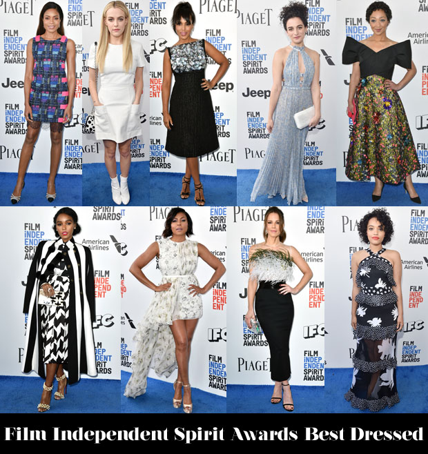 1fd1b6774a Who Was Your Best Dressed At The 2017 Film Independent Spirit Awards?