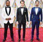 2017 Oscars Menswear Roundup
