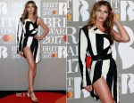 Abbey Clancy In Haider Ackermann - 2017 BRIT Awards