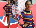 Alesha Dixon In Balmain - Britain's Got Talent Manchester Auditions